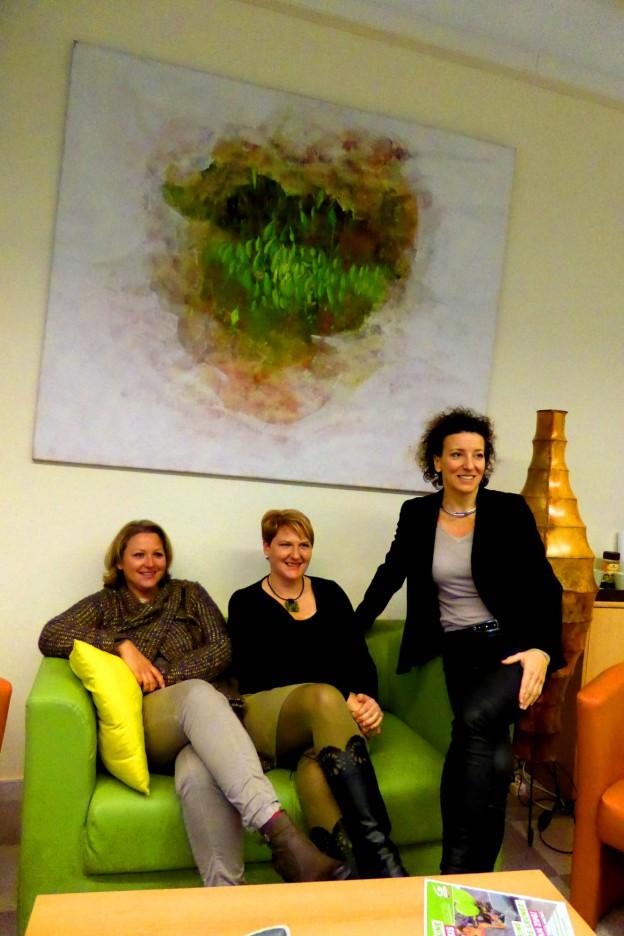 Birgit, Martina, Helga